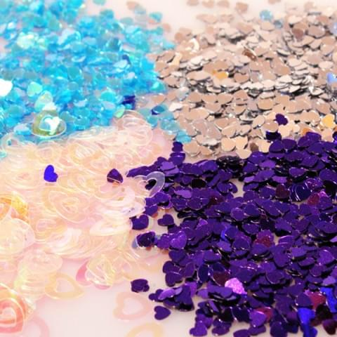 Hearts Confetti Sparkles 14g