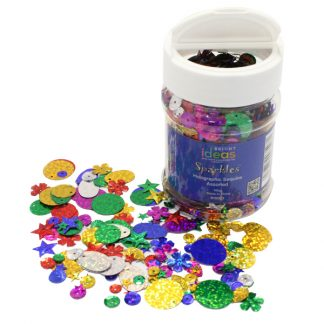 Holographic Sequins 100g Assorted