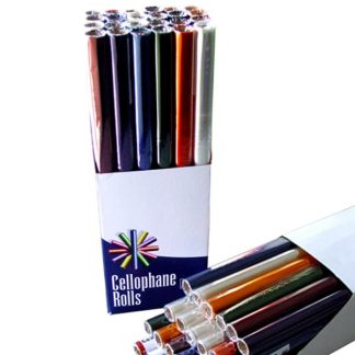 Cellophane Rolls 50cm Assorted