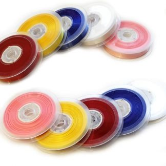 Satin Ribbon Spools 5 x 20m