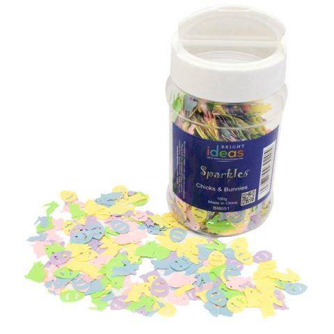 Spring Confetti Sparkles Shaker 100g