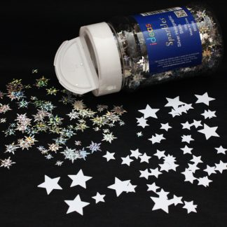 Stars Confetti Sparkles Shakers 100g