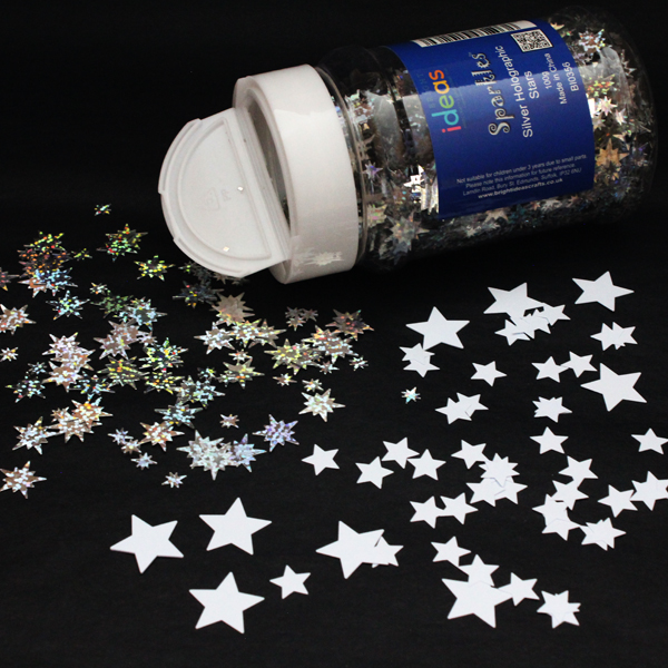 Stars Confetti Sparkles Shakers 100g