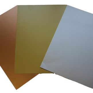Metallic Card A4 sheets pk20