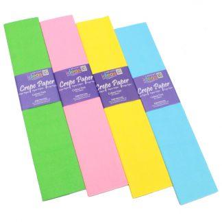 BI2528 Pastel Crepe Paper Pack PK04