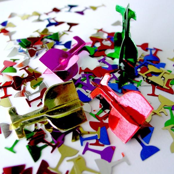 BI5100 Champagne 3D Confetti Sparkles 14g