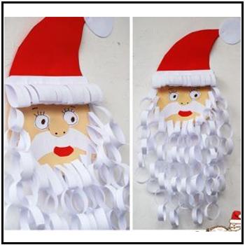 santa paper chains