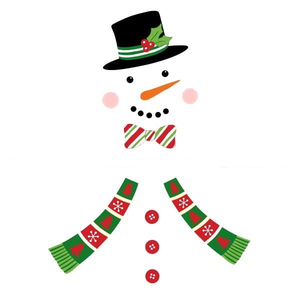 BI7551 Make A Snowman Fridge Magnets
