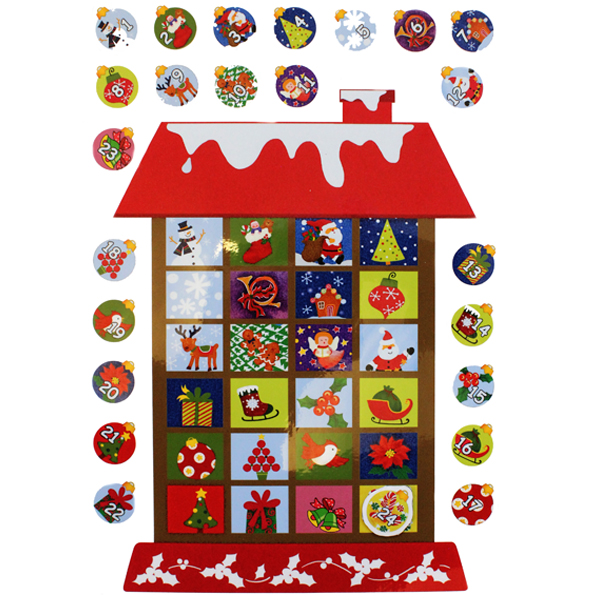 Advent Calendar Gift Ideas Uk : Advent calendar fridge magnets bright ideas crafts
