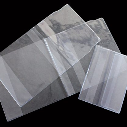 PVC Clear Jacket Book Covers - Assorted Sizes