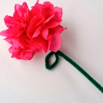 pipe cleaner flower
