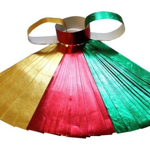 Christmas Foil Paper Chains pk75