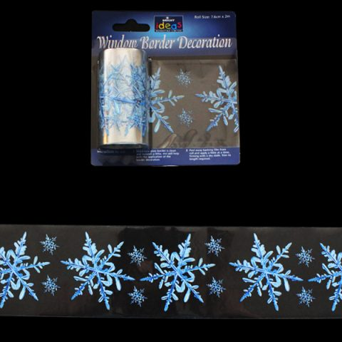 Window Border Snowflake