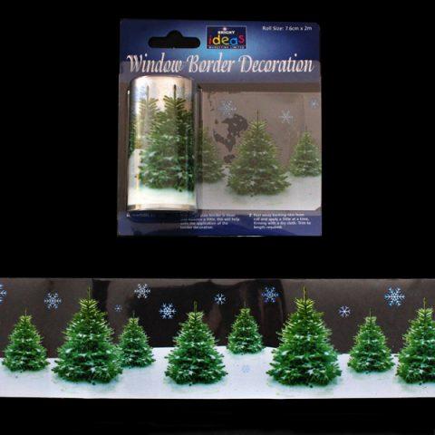 Window Border Realistic Tree