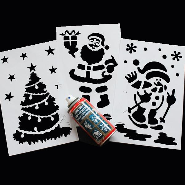 Snow Spray Stencil Kit Bright Ideas Crafts