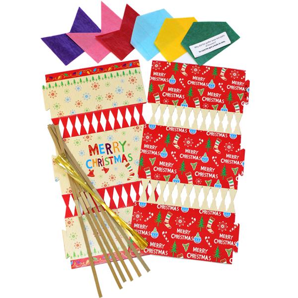 Make your own christmas crackers pk06 bright ideas crafts bi0401 make your own christmas crackers pk06 merry xmas solutioingenieria Images
