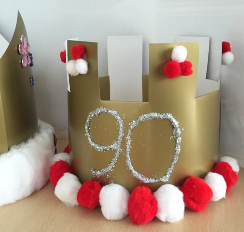Queen's 90th Birthday Crown Make
