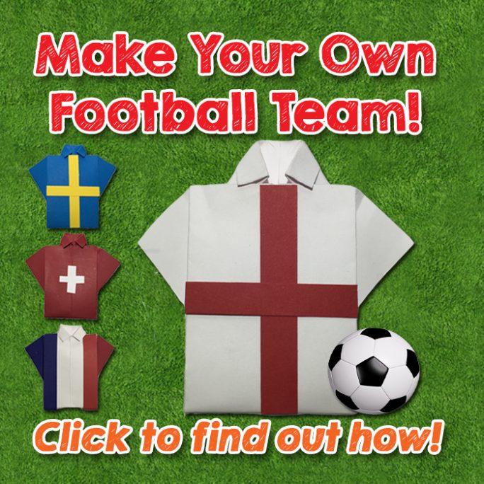Make Your Own Euro Football Shirts - Euro 2016