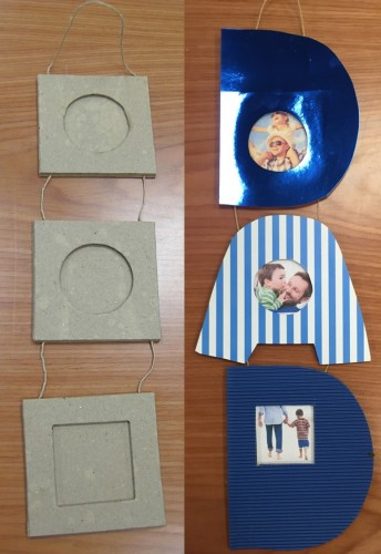 Fathers Day Crafts - Decorate a DAD Frame