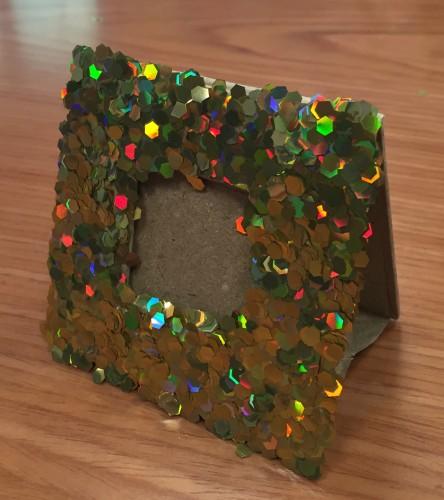 Fathers Day Crafts - Make a Glittery Frame