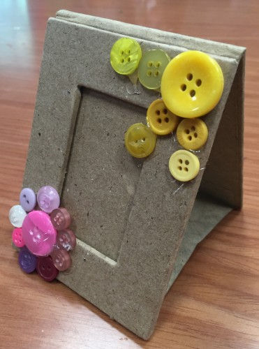Fathers Day Crafts - Make a Sunny Frame