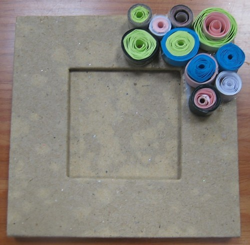 Fathers Day Crafts - Paper Quilling Frame