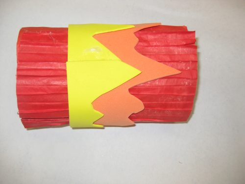 Olympics crafts - make an Olympics torch