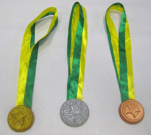 Olympics crafts - make Olympics medals