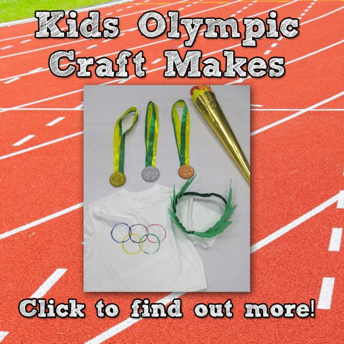 Kids Olympics Crafts - Make something different this Summer!