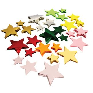 Star Shaped Cut Outs