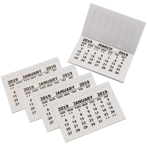 BI0484(19) 2019 Calendar Tabs without Cover