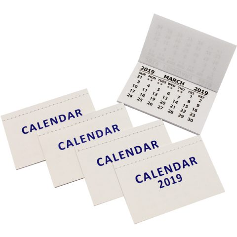BI0488(19) 2019 Calendar Tabs with cover