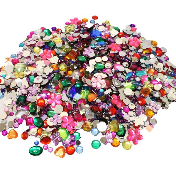 BI8072 Acrylic Jewels & Gemstones 230g