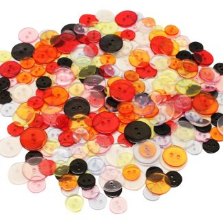 BI7967 Assorted Colour Buttons PK100