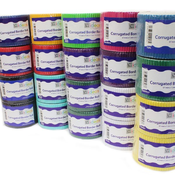 Assorted Corrugated Border Rolls