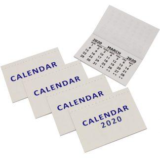BI0488(20) 2020 Calendar Pads PK50