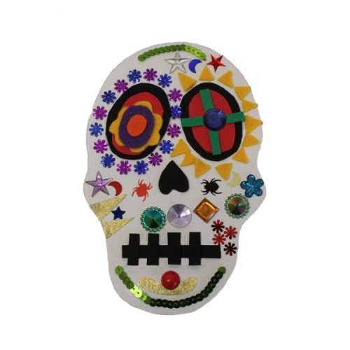 HOW TO MAKE: Halloween Skull — Bright Ideas Crafts