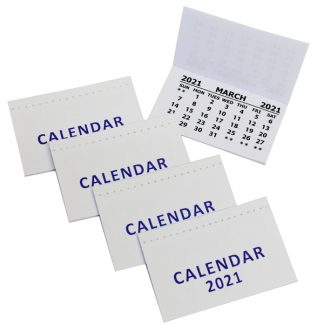 2021 Calendar Tabs with cover PK50
