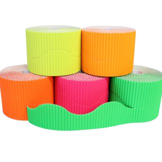 BI7874 Fluorescent Corrugated Border Rolls PK05