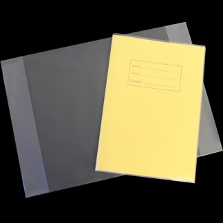 BI9010 PP Clear Book Cover A4 PK50