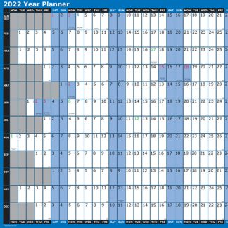 BI0455 Year Planner