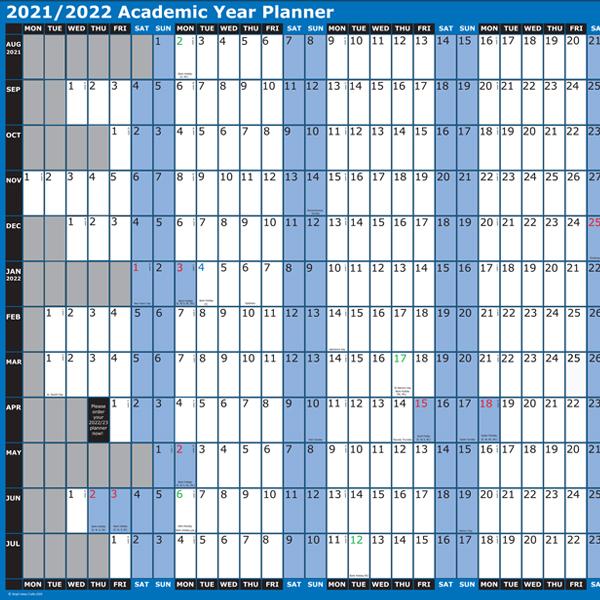 BI0456 Academic Year Planner